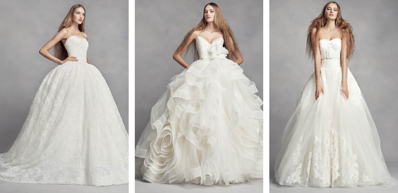 WHITE by Vera Wang Ball Gown Wedding Dresses