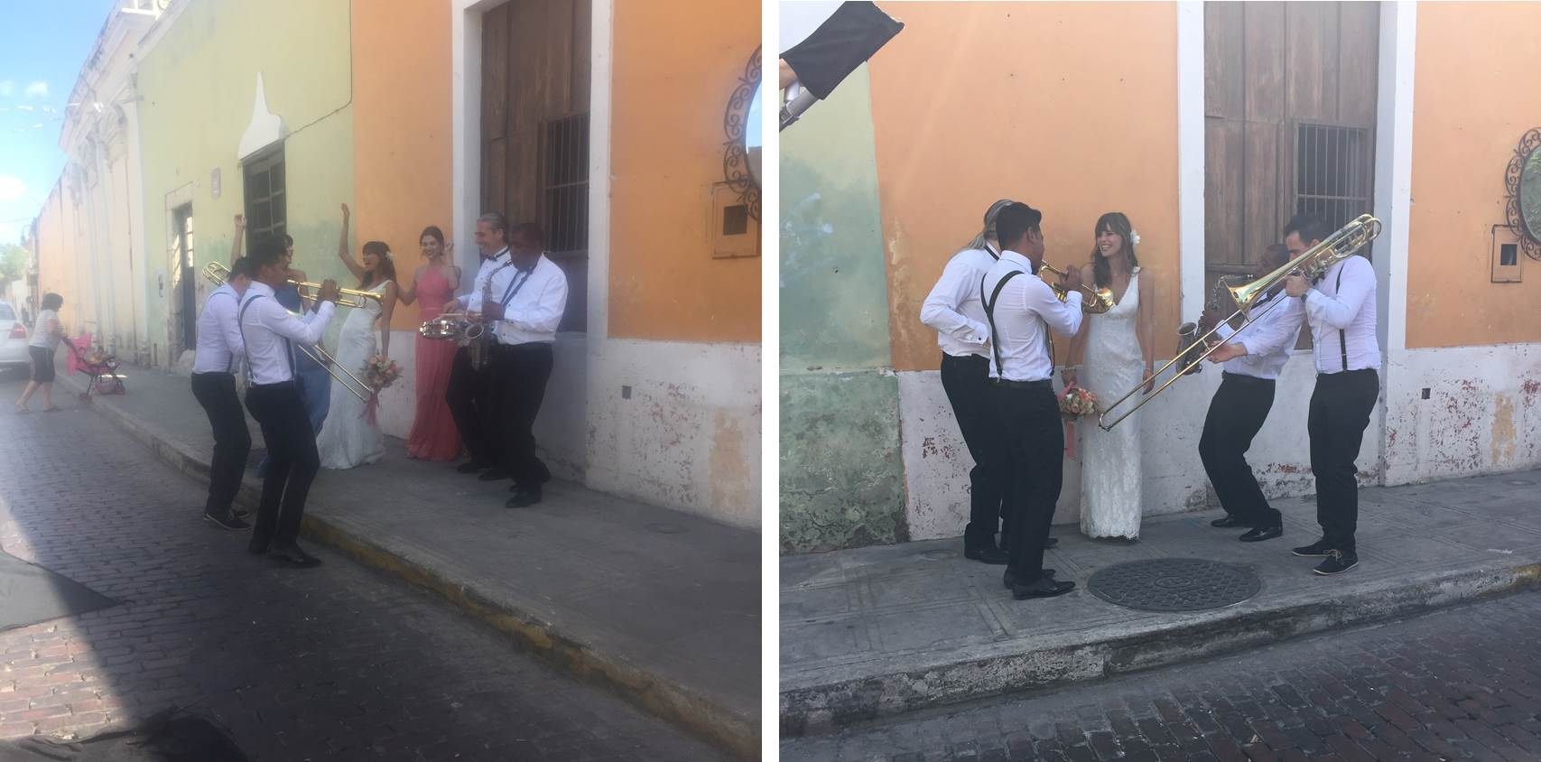 Making a scene on the streets of Merida during our Fall 2017 campaign shoot. See more on the David's Bridal blog - www.davidsbridal.com/blog.