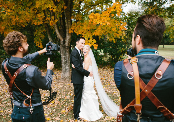 5 Tips for Picking Your Perfect Wedding Videographer. See more on the David's Bridal blog - www.davidsbridal.com/blog. Photo: Dallas Wilson Wedding Films