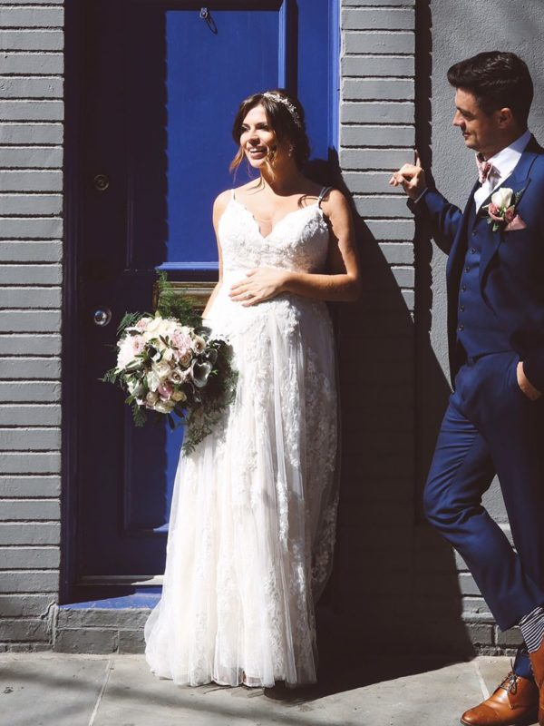 Wedding Dress Advice For Pregnant Brides | Photo by L&L Style Photo