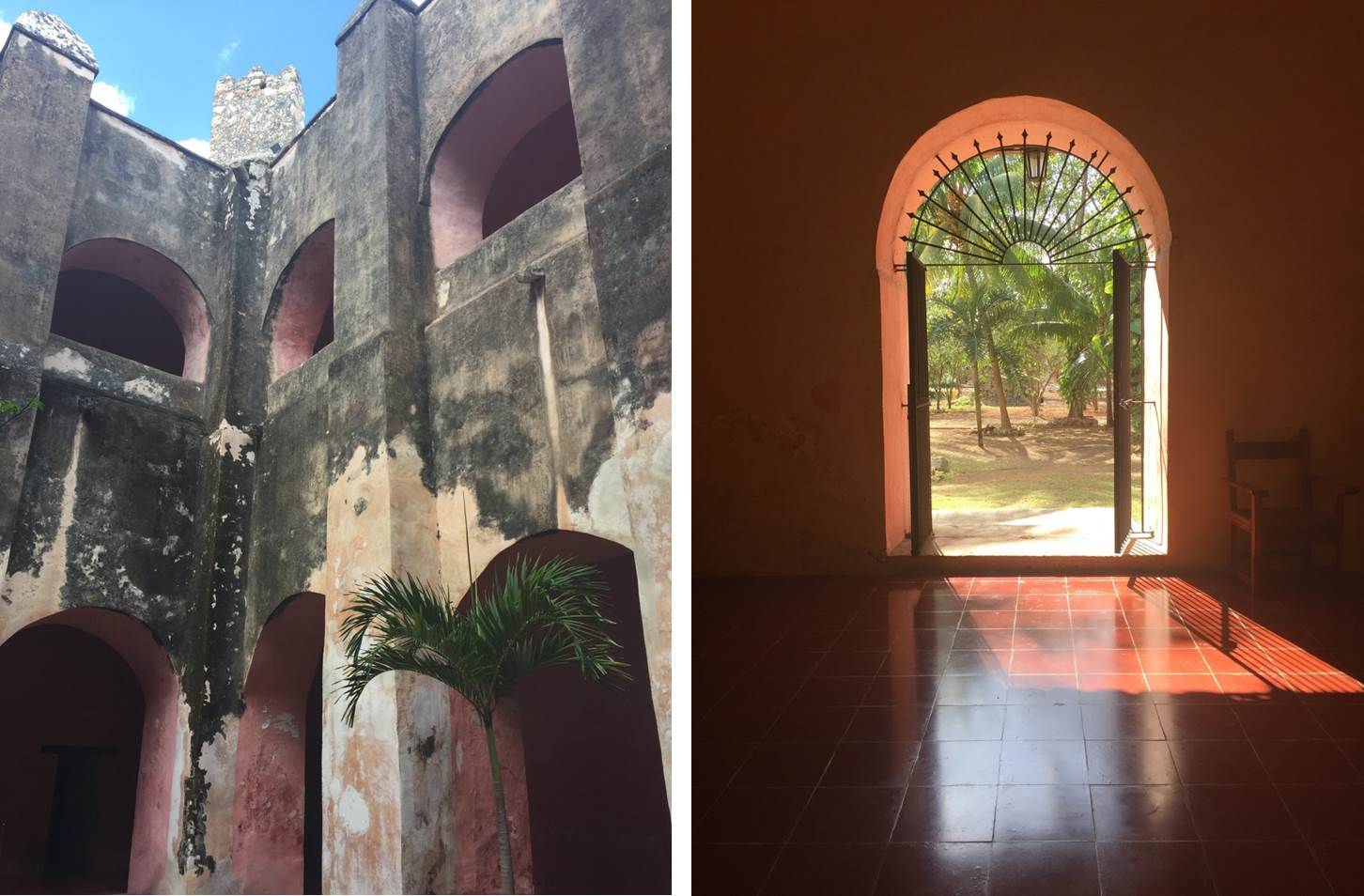 Gorgeous architecture at Convento de San Bernardino, the set for our Fall 2017 David's Bridal Collection photo shoot. See more on the David's Bridal blog - www.davidsbridal.com/blog.