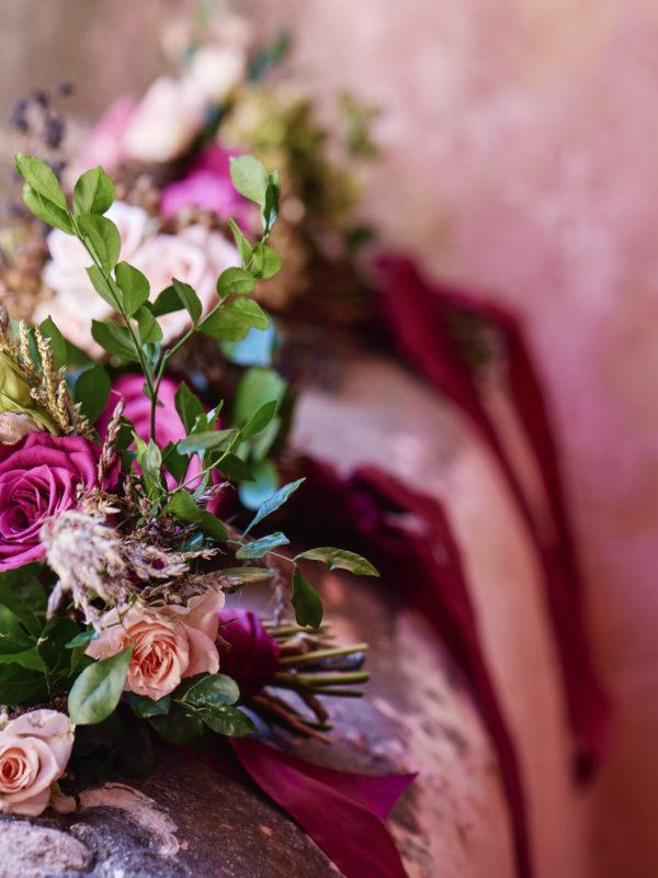 The Prettiest Fall Wedding Flowers. See more on the David's Bridal blog - www.davidsbridal.com/blog.