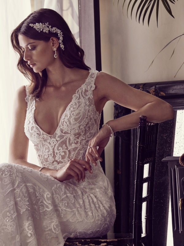 The Fall 2017 Galina Signature Collection. Available exclusively at David's Bridal. See more on the David's Bridal blog - www.davidsbridal.com/blog.