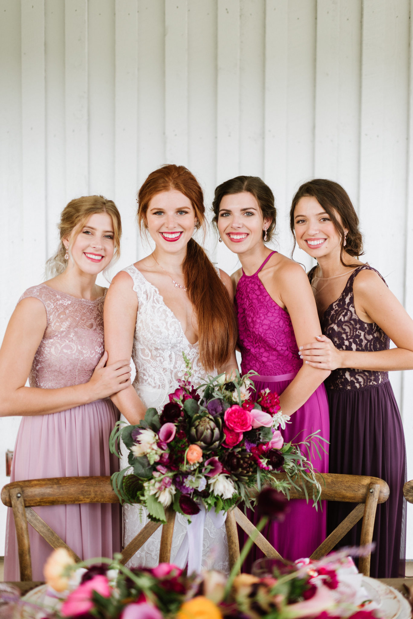 Bridesmaid Dress Color Palettes that Wow