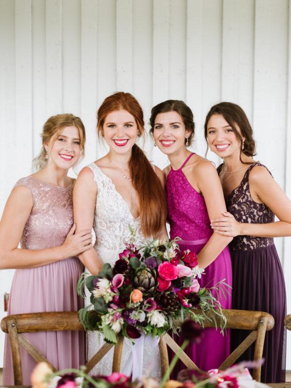 Bridesmaid Dress Color Palettes that Wow