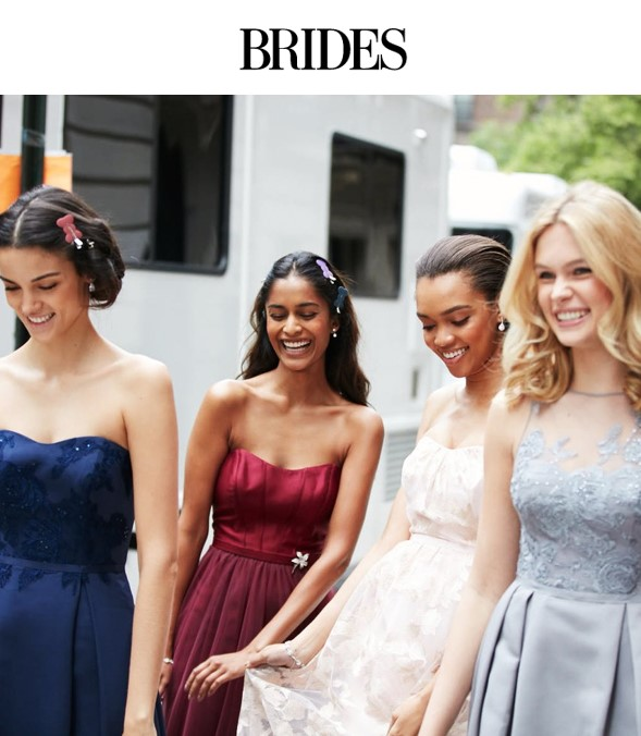 Brides.com announces David's Bridal's new Oleg Cassini Bridesmaid Dress Collection