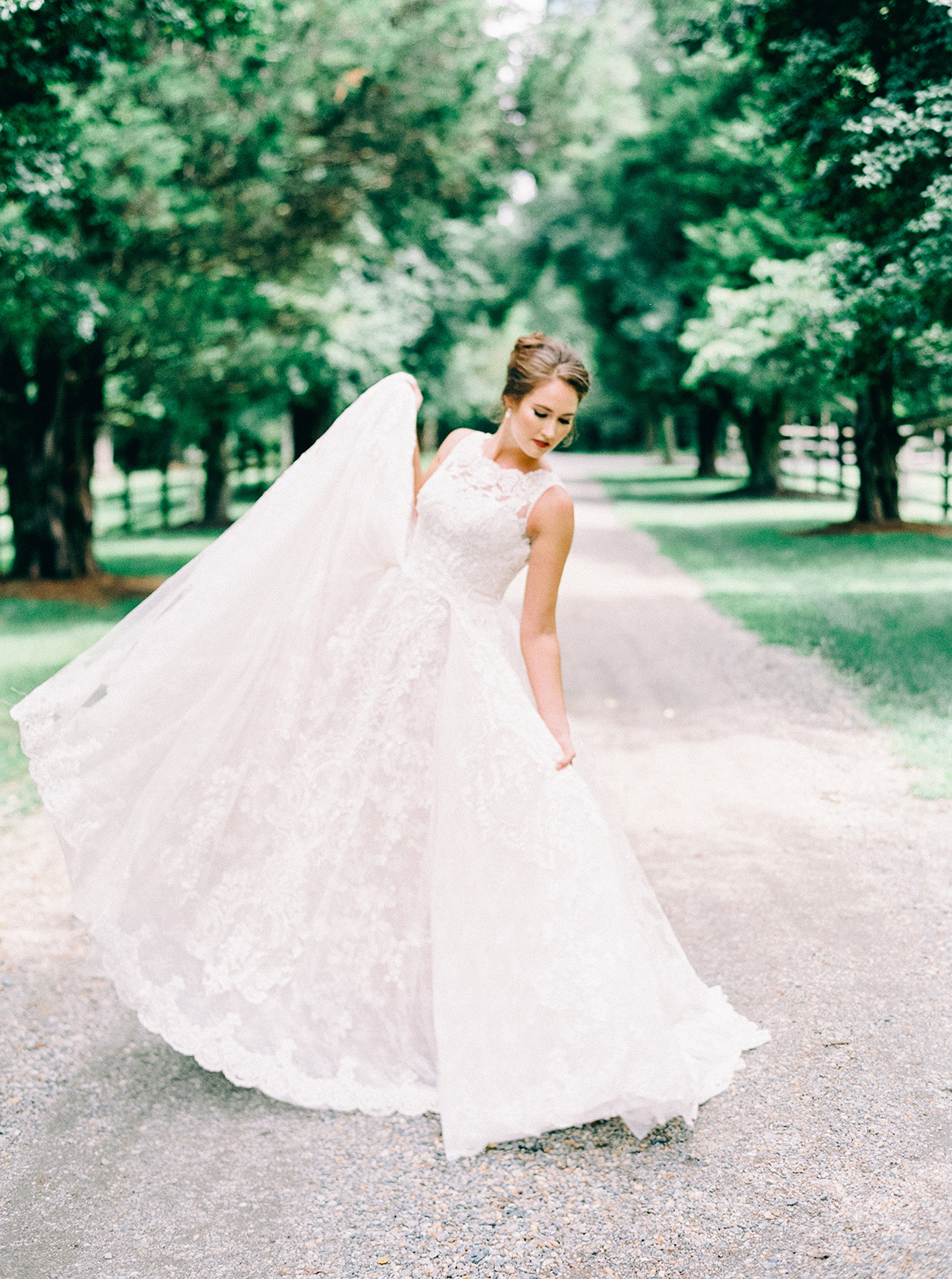 Wedding Dresses Under $2,000 from David's Bridal | Photo by Nikki Santerre for Aisle Society