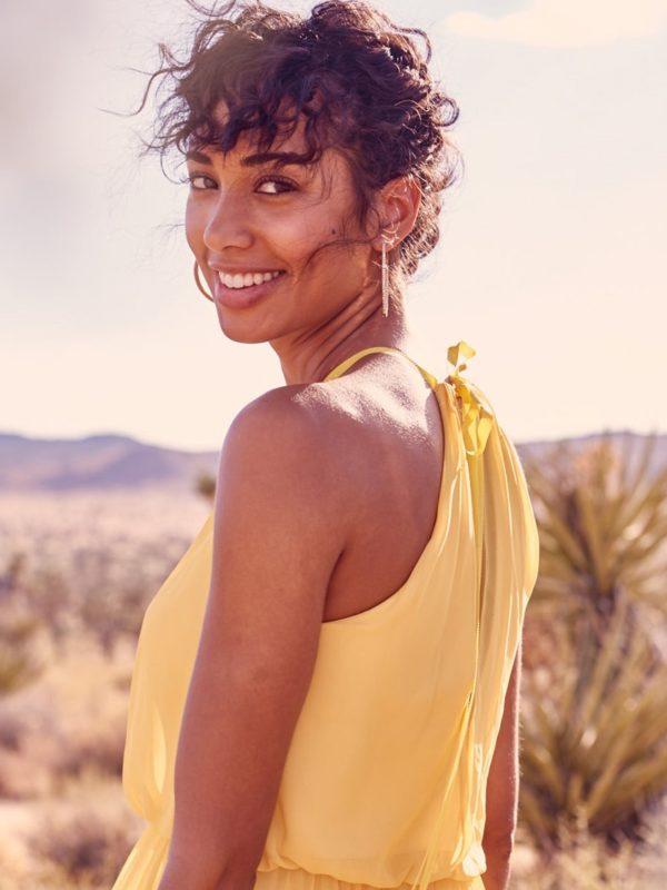 Sunflower Yellow Bridesmaid Dress