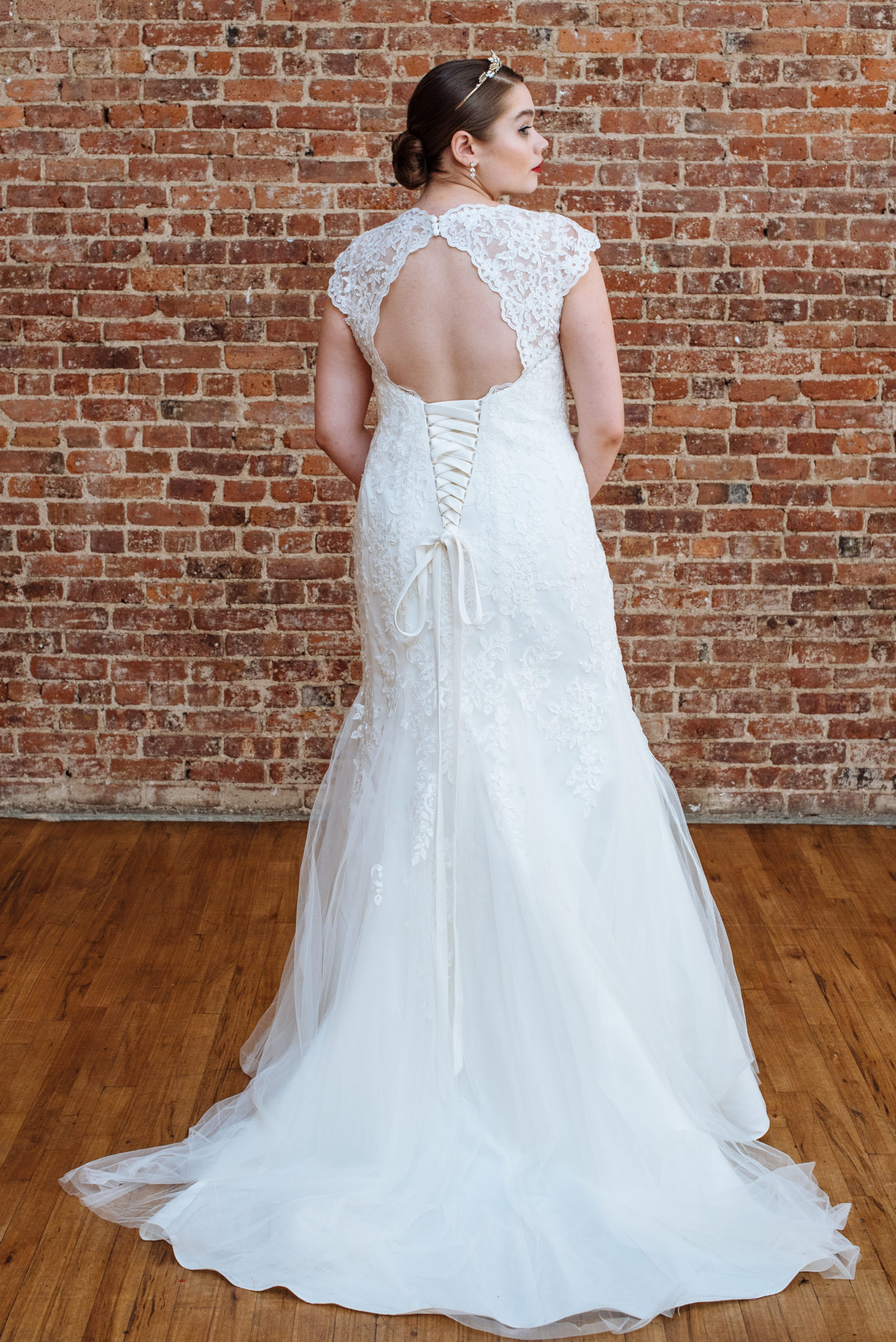 Figure Flattering Plus Size Wedding Dresses - David\'s Bridal ...