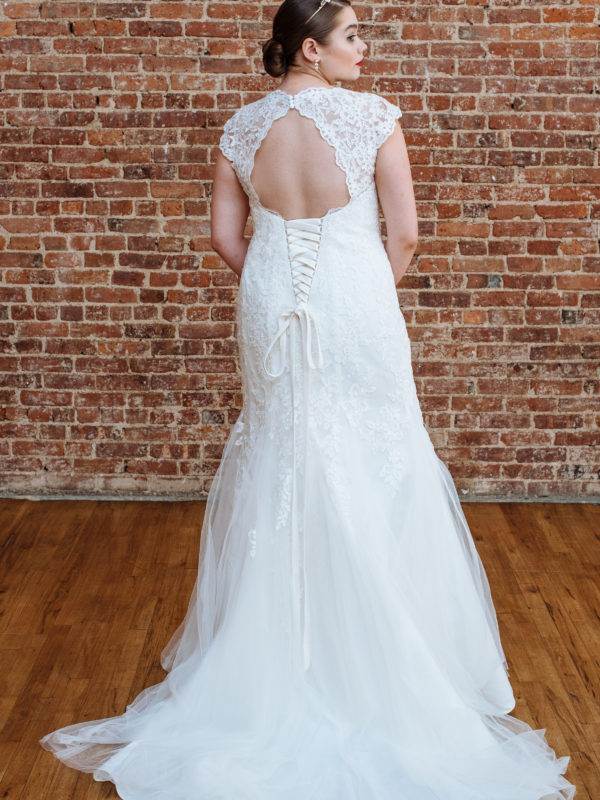 Figure Flattering Plus Size Wedding Dresses from David's Bridal