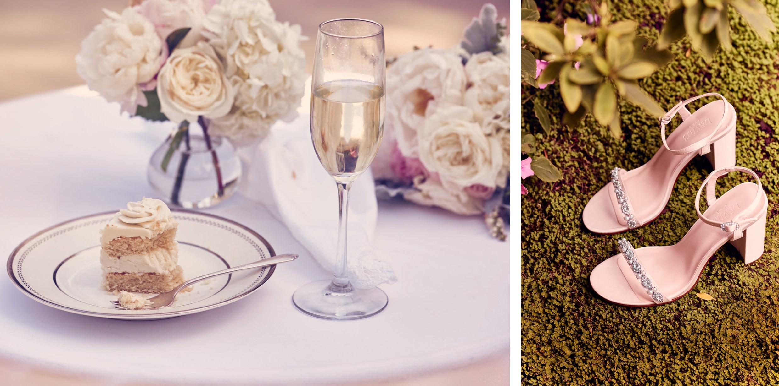 Backyard Wedding Inspiration from David's Bridal Collection