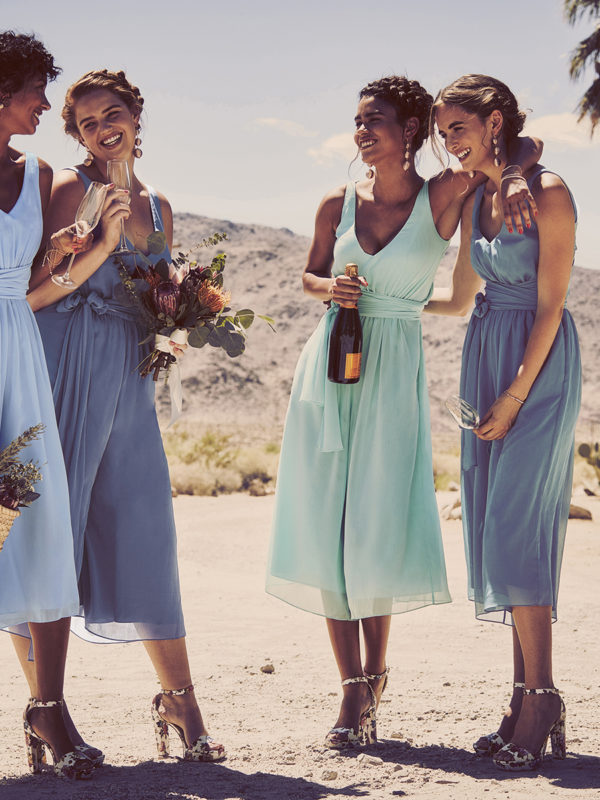 Bridesmaid Jumpsuits from David's Bridal