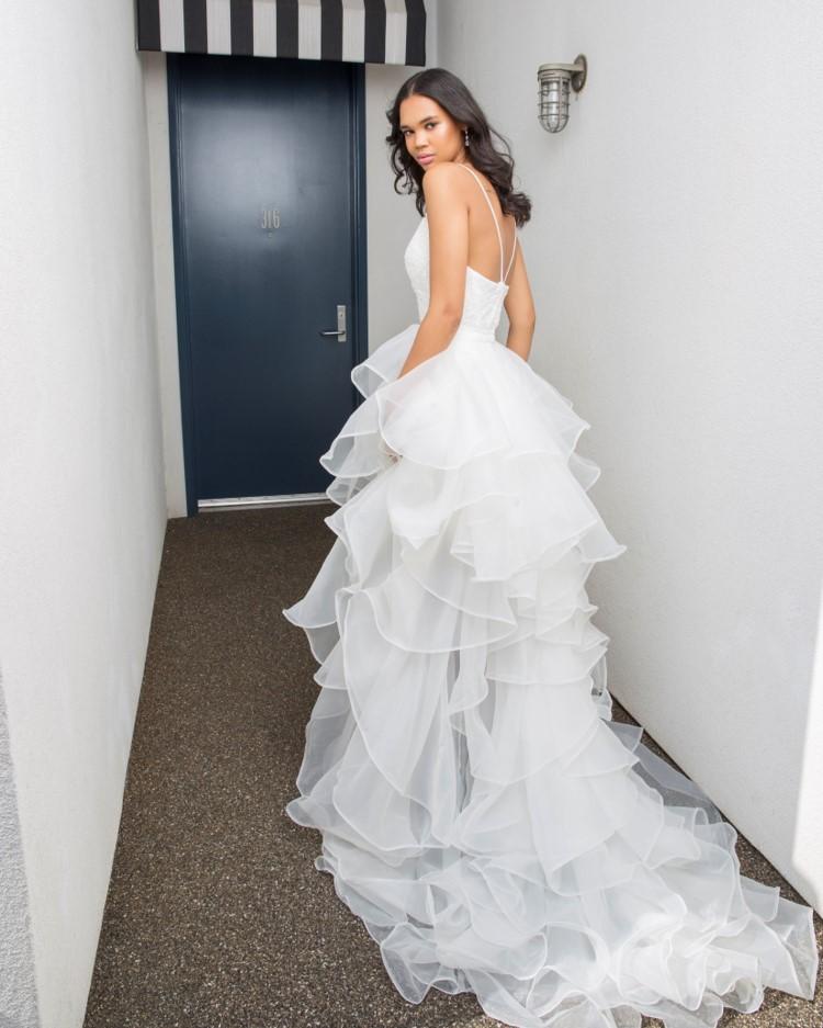 Wedding Dress Trains from David's Bridal