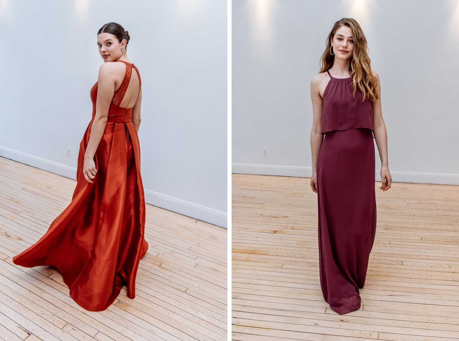 David's Bridal introduces 2 new colors for Fall 2018! See more Fall 2018 bridesmaid trends on the blog!
