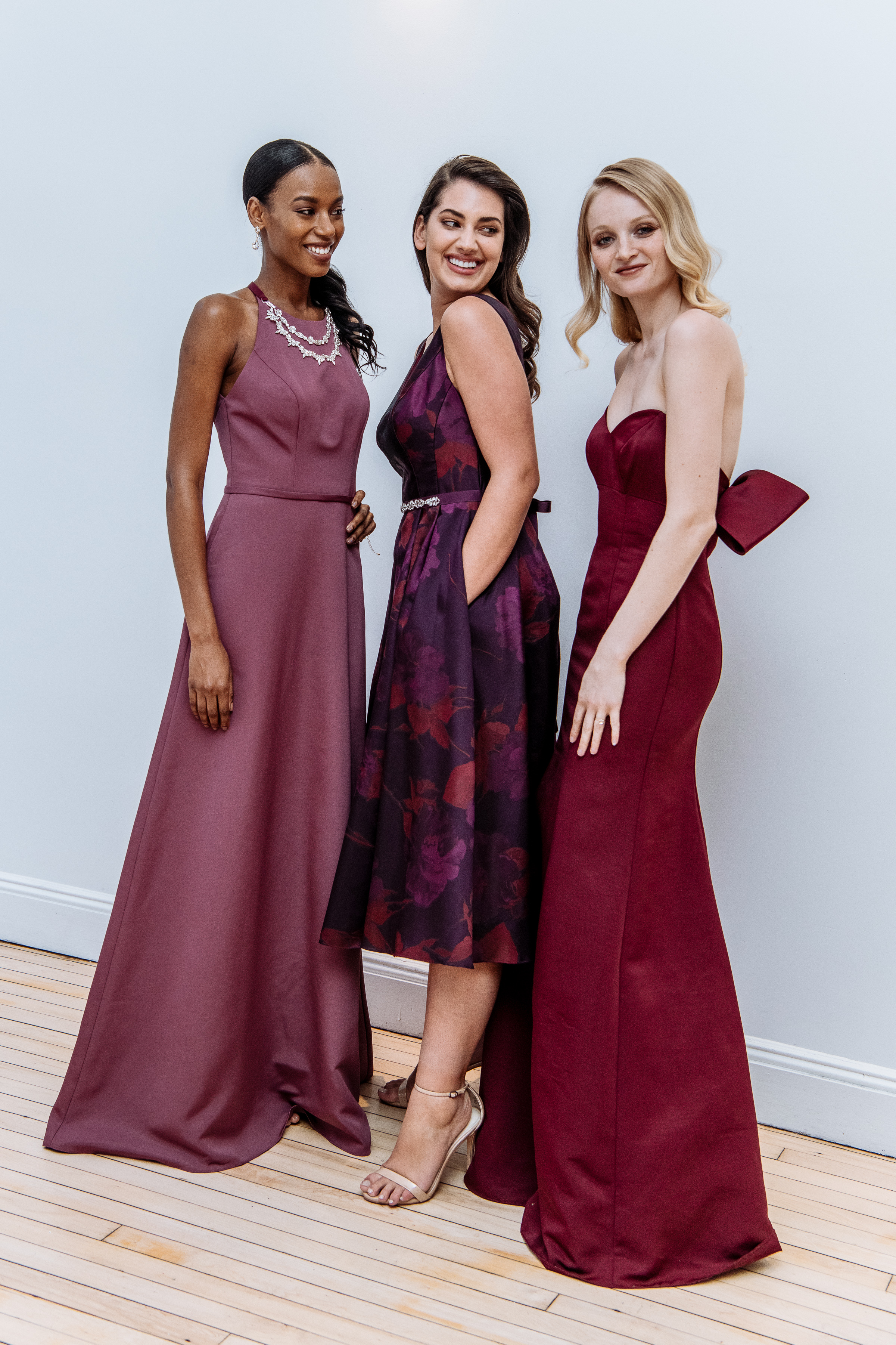 A new twist on timeless elegance for bridesmaids. See more Fall 2018 bridesmaid trends on the David's Bridal blog.
