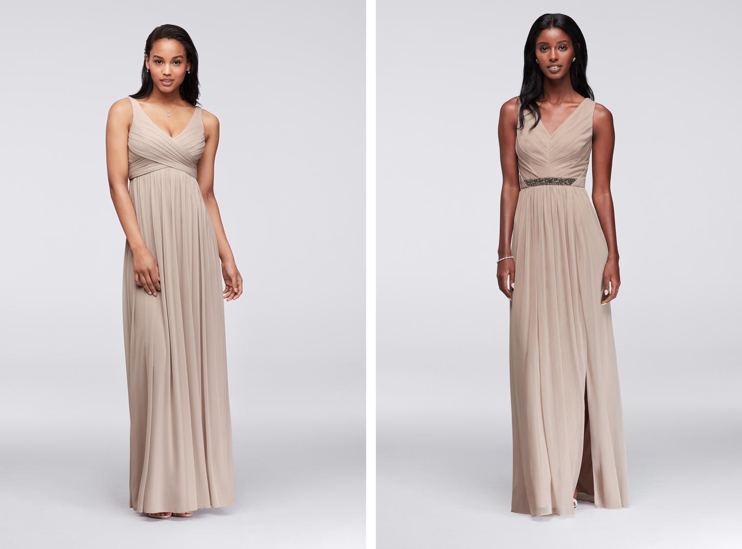 Bra-Friendly Bridesmaid Dresses