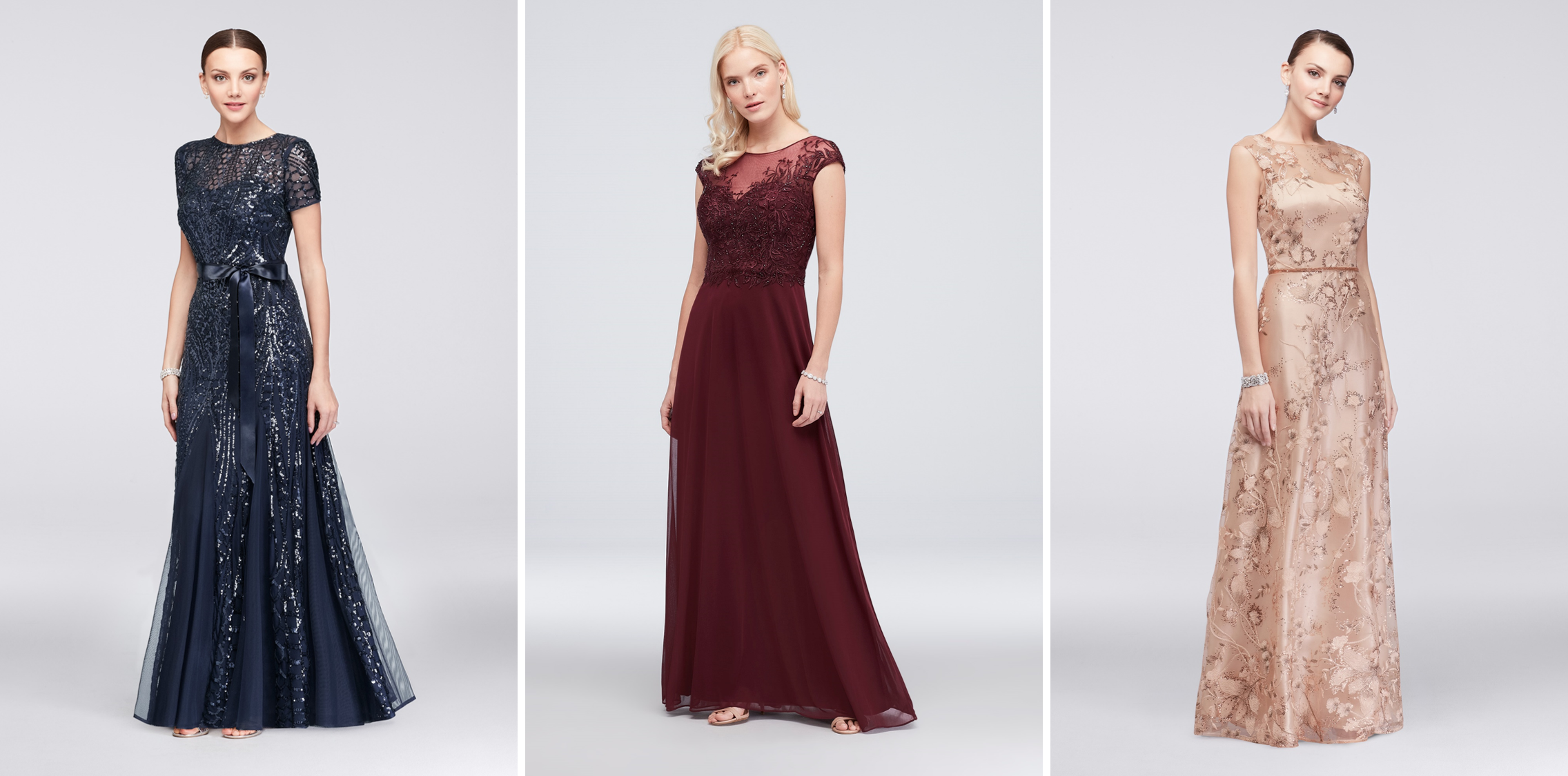 Mother of the Bride Dresses for Different Body Types | Define Your Waist
