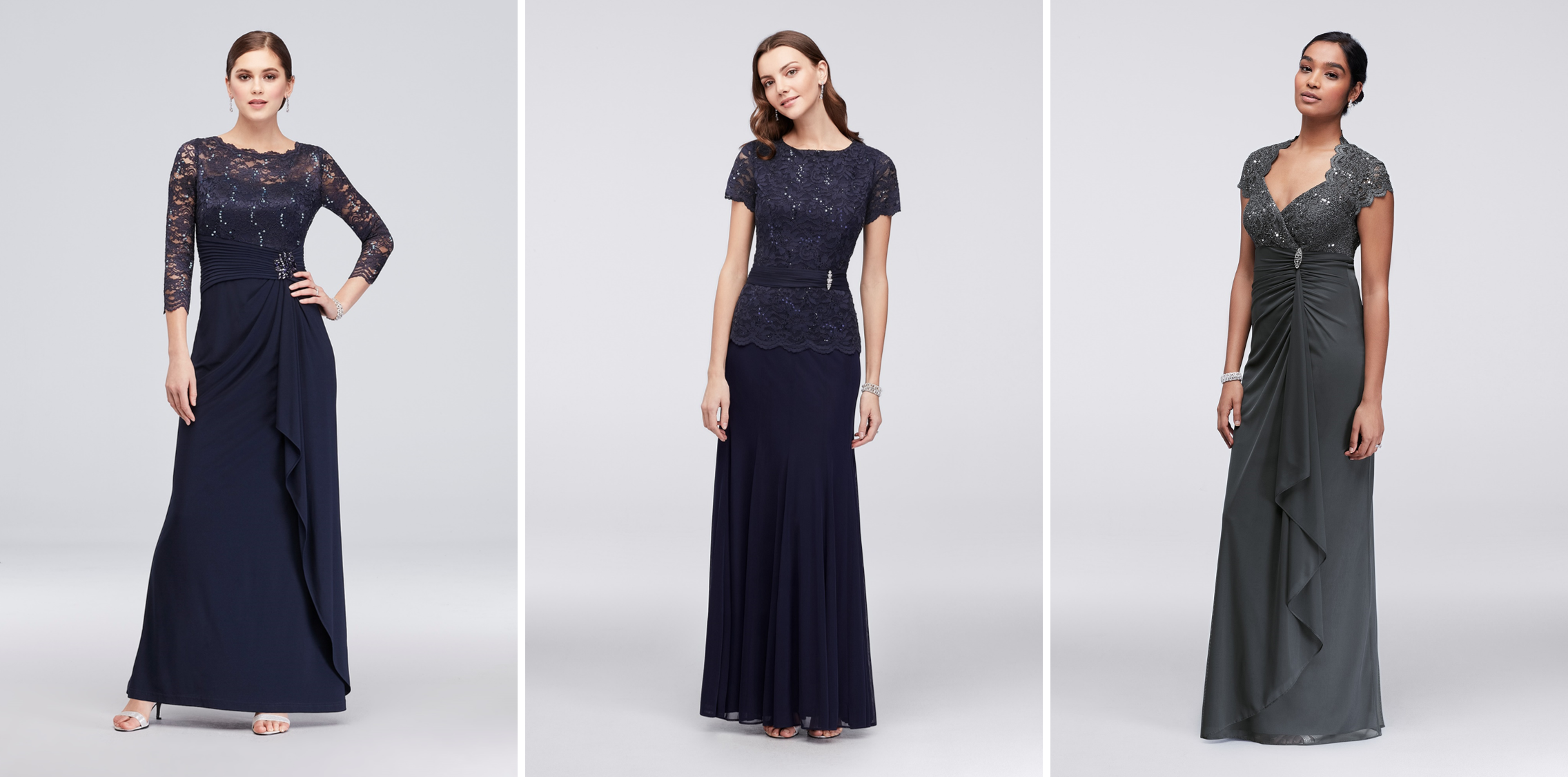 Mother of the Bride Dresses for Different Body Types | Camouflage Your Tummy