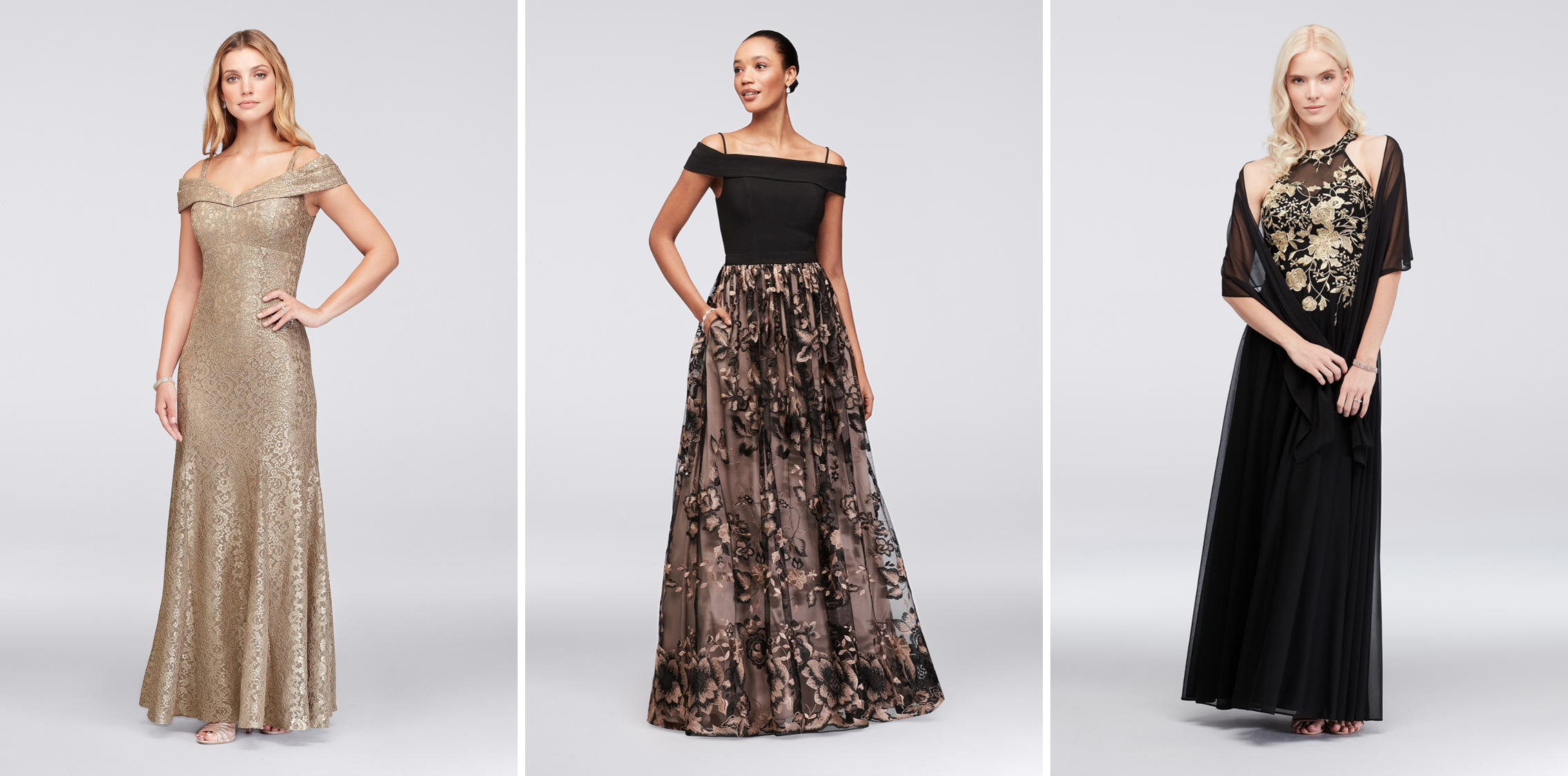 Mother of the Bride Dresses for Different Body Types | Show Off Your Shoulders