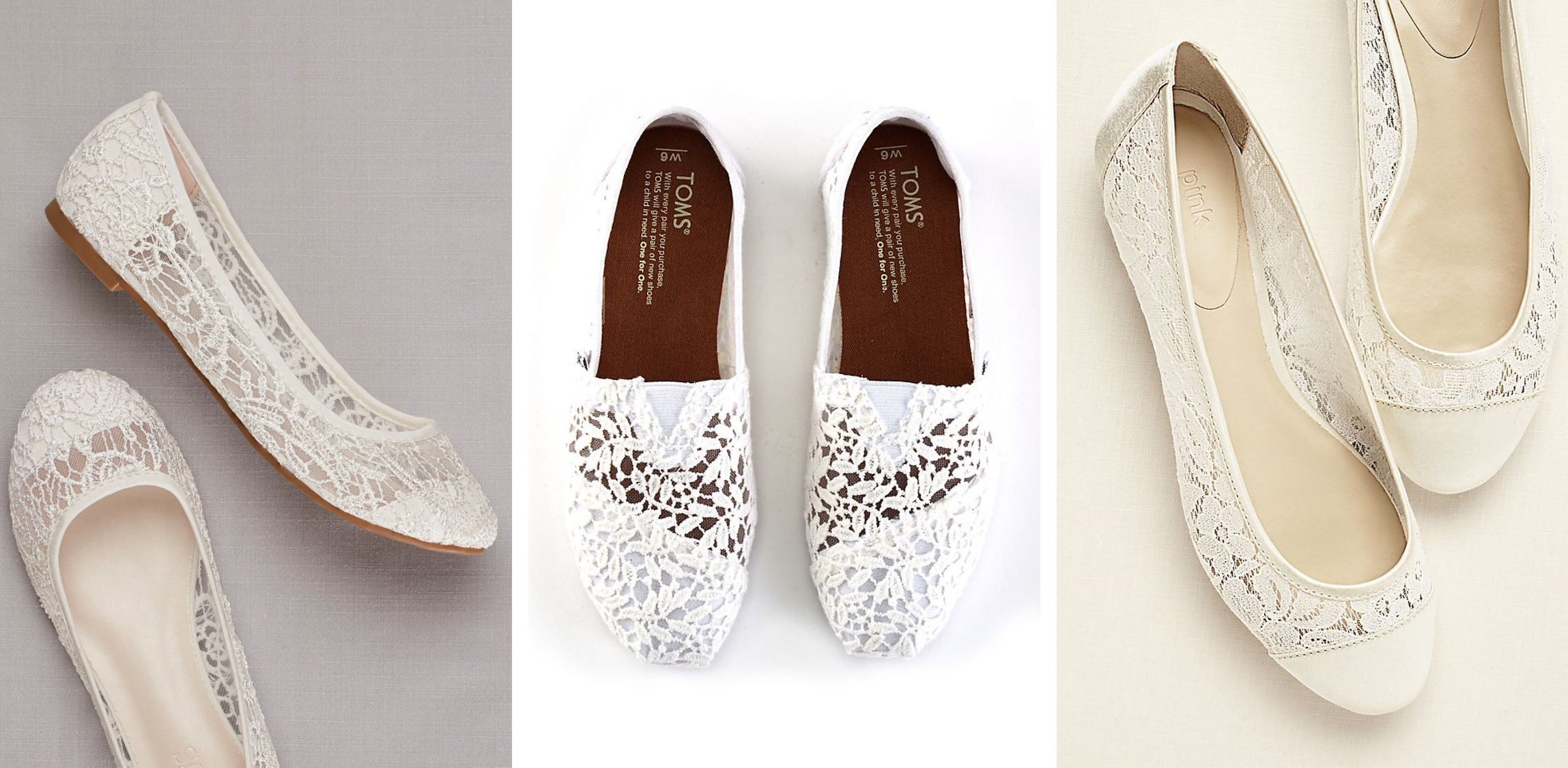 Wedding Flats | Lace