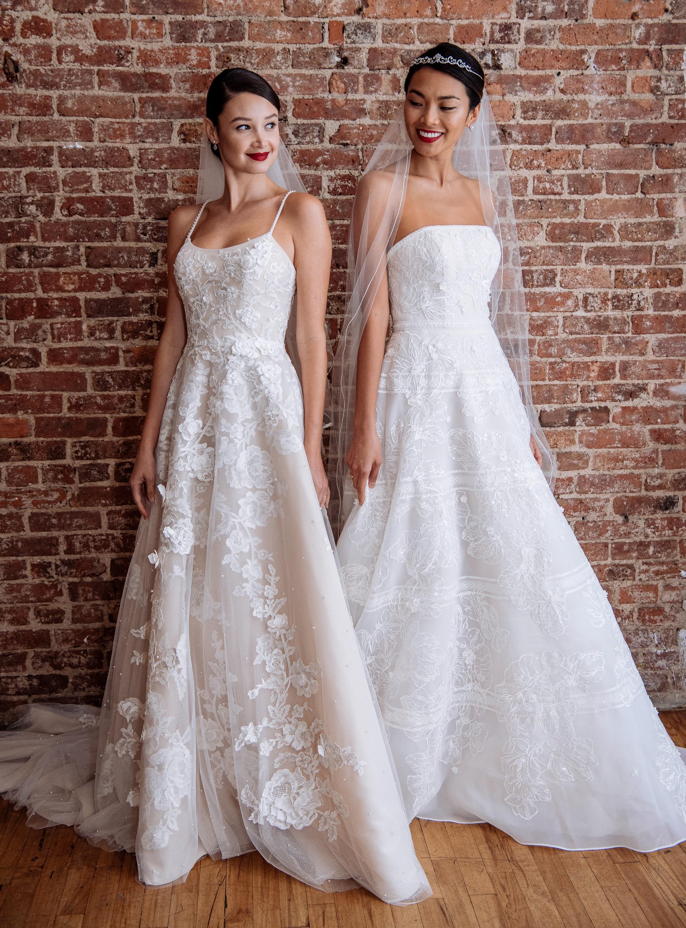 2019 Spring Wedding Dresses | Transparent Wedding Dress Details
