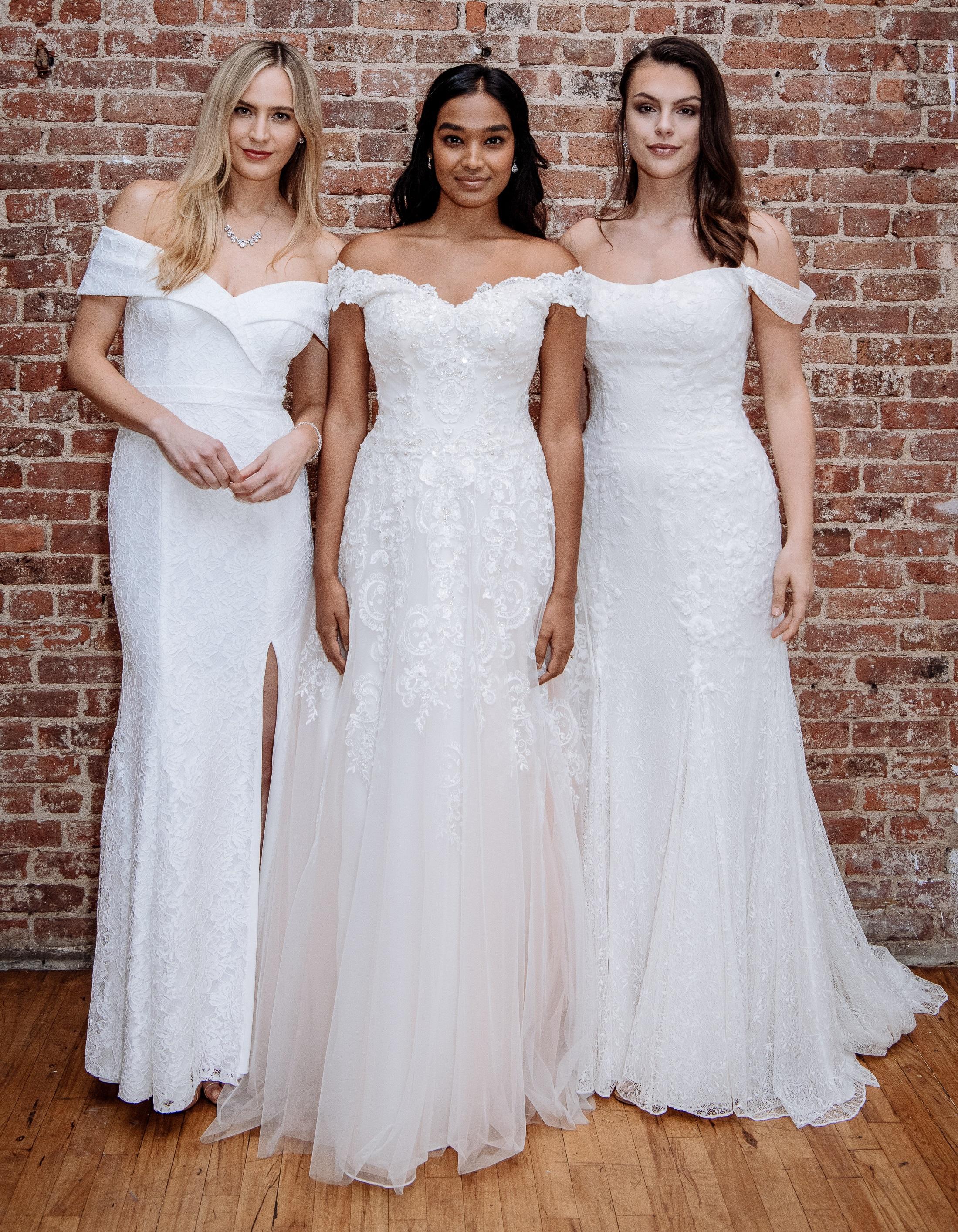 2019 Spring Wedding Dresses | Off-the-Shoulder Wedding Dresses