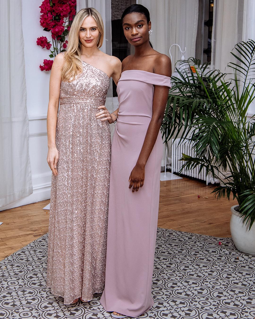 2019 Spring Bridesmaid Dresses | Shoulder Moment