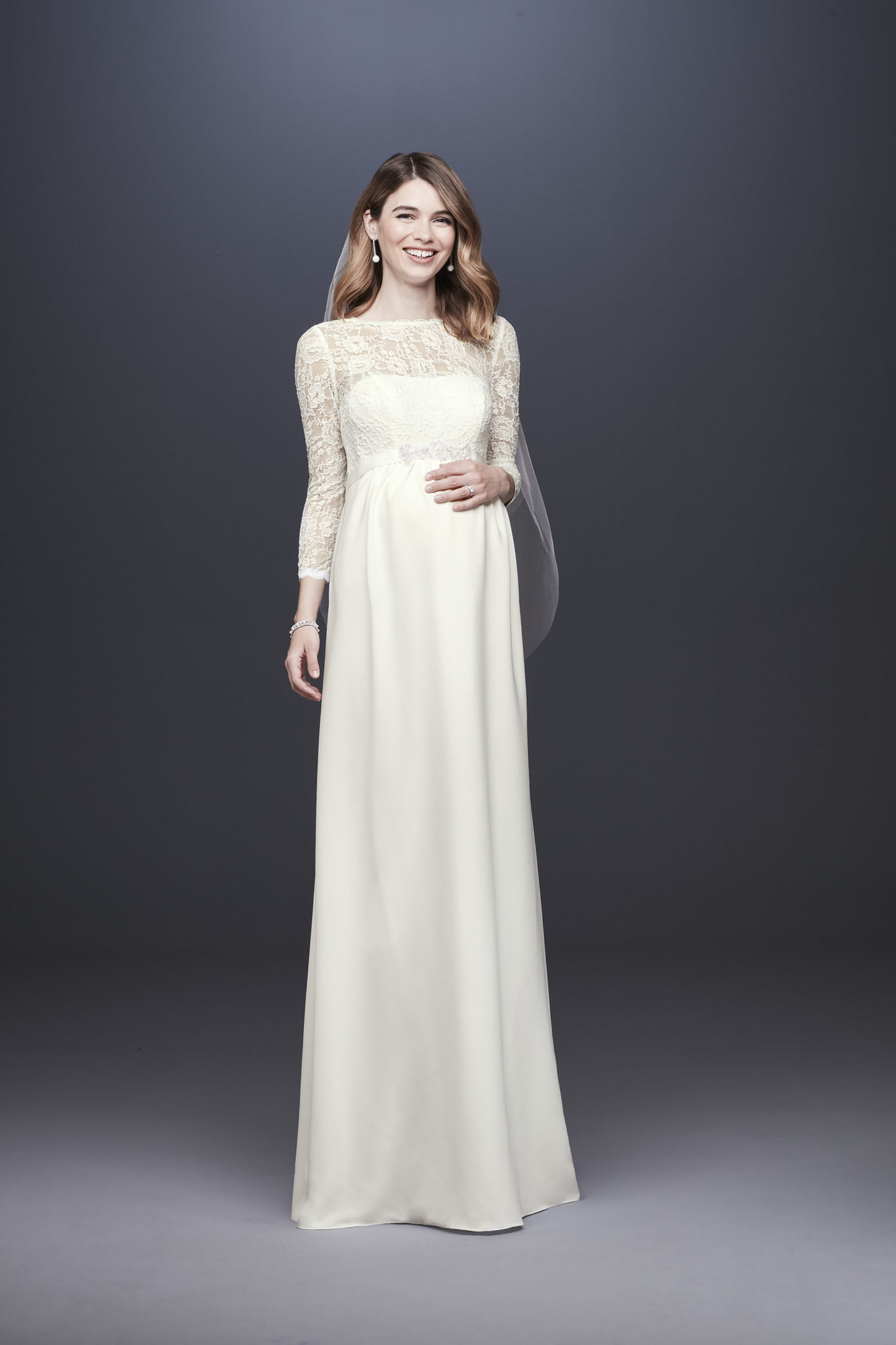 In The News: How to Shop for a Wedding Dress While Pregnant