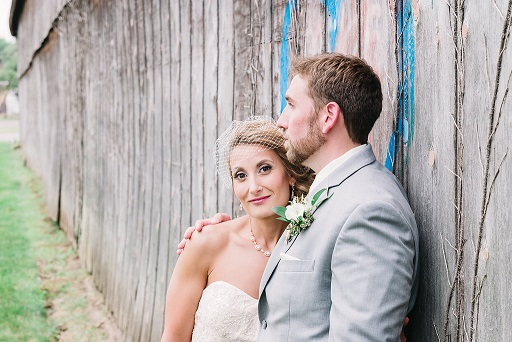 Profile picture of real bride Becky and groom Brian