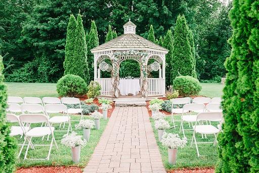 Shot of ceremony location