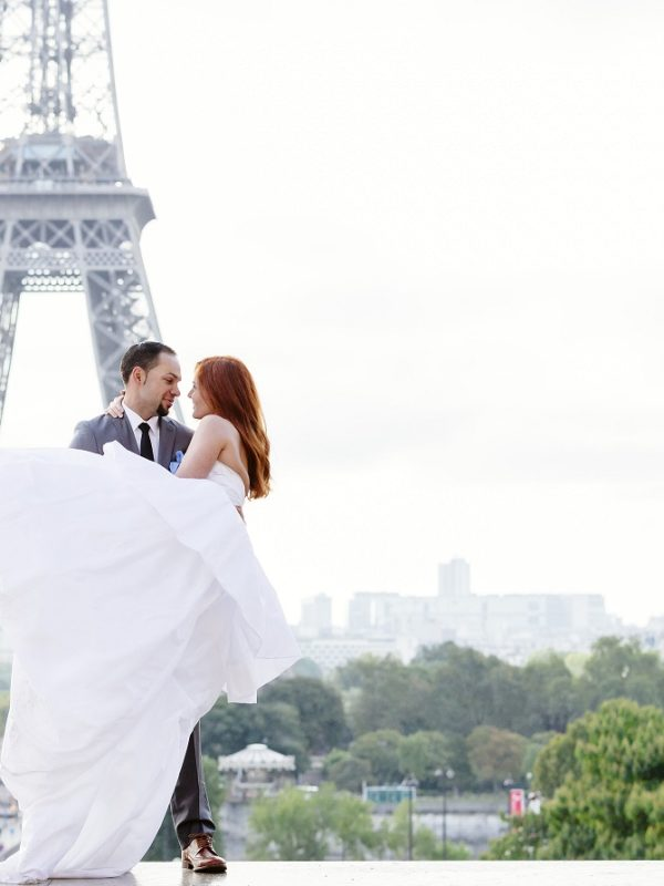 Real Weddings Emily and TJ in Paris