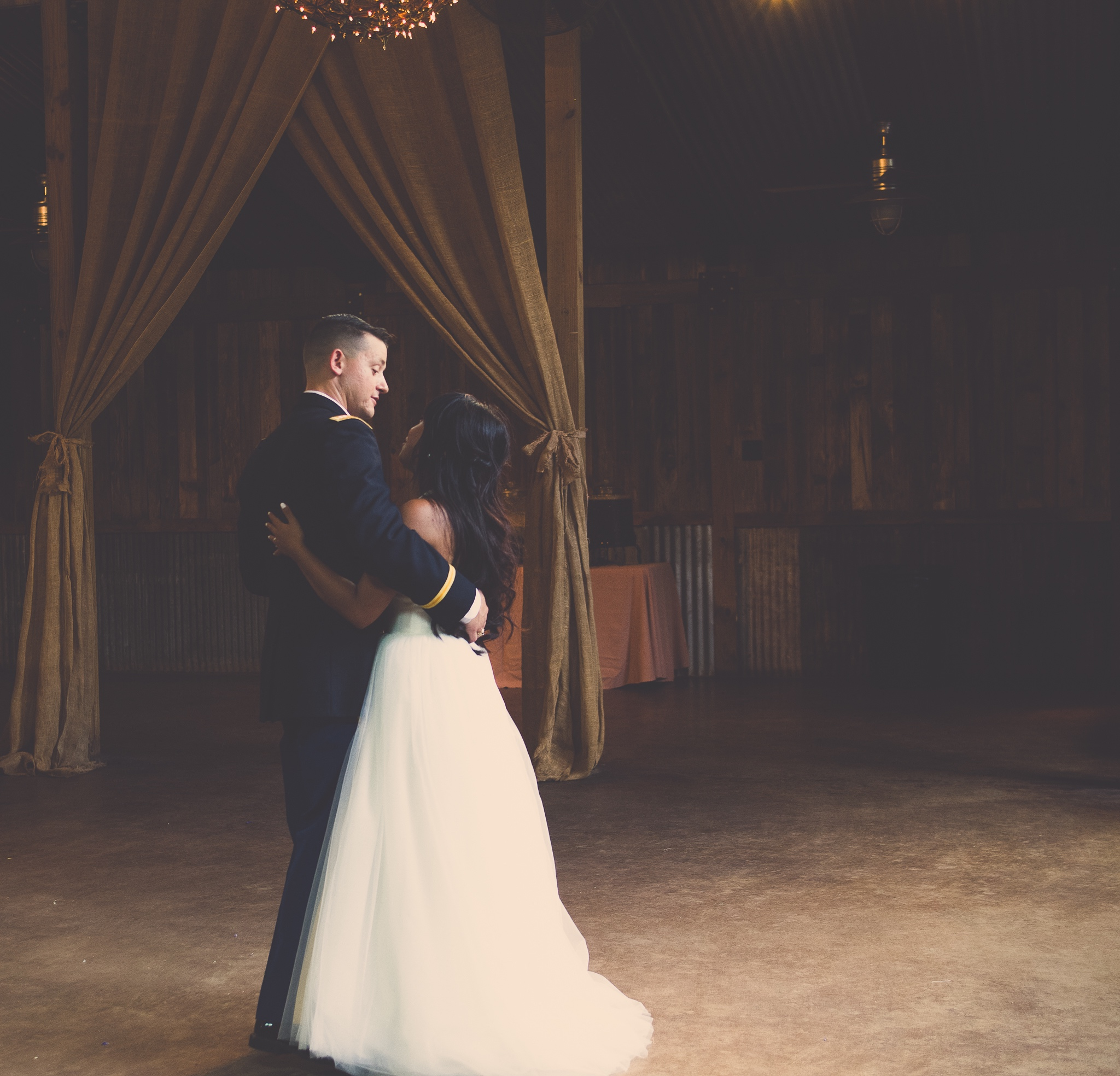 Lharizza and Eric First Dance