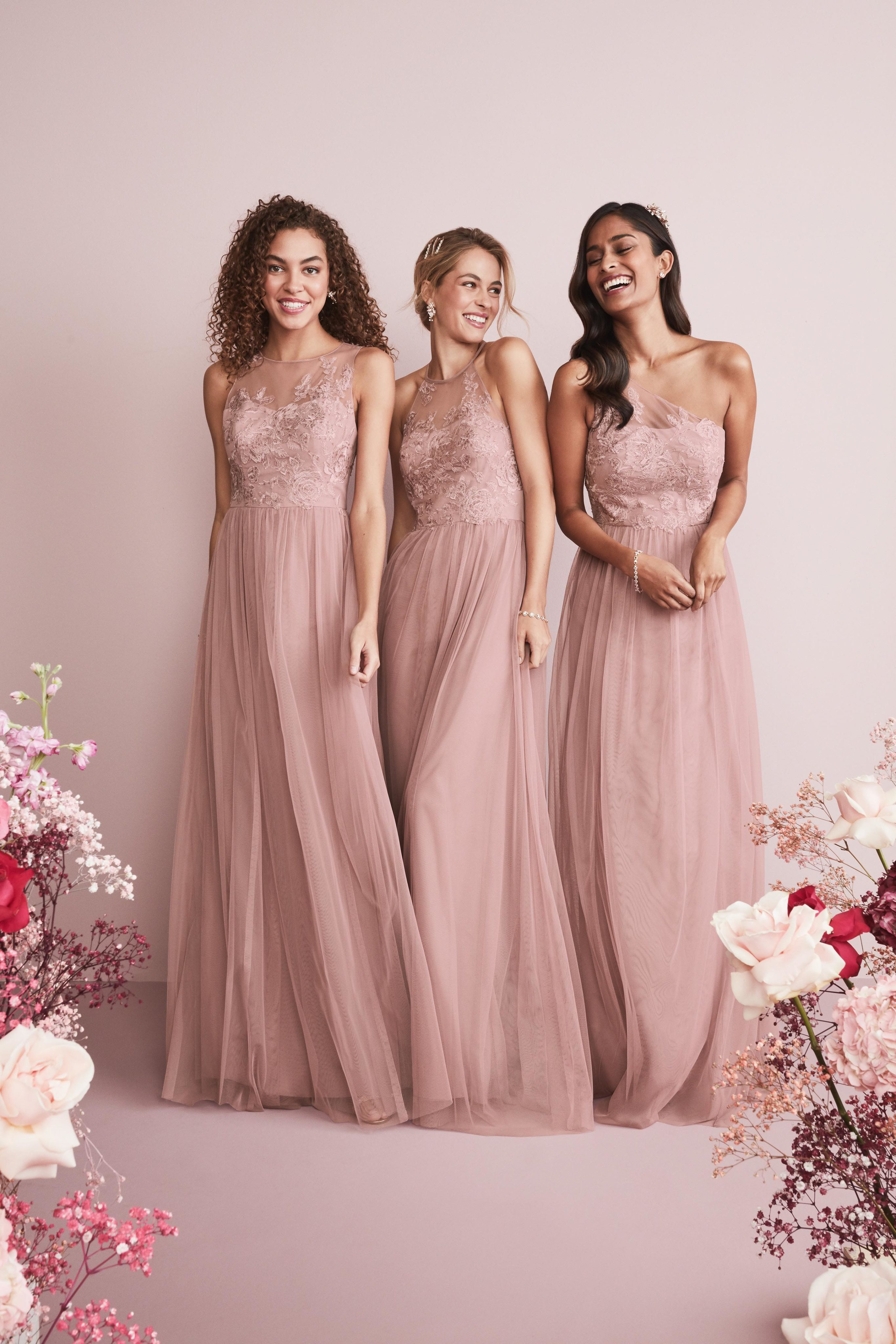 Mix and Match Bridesmaid