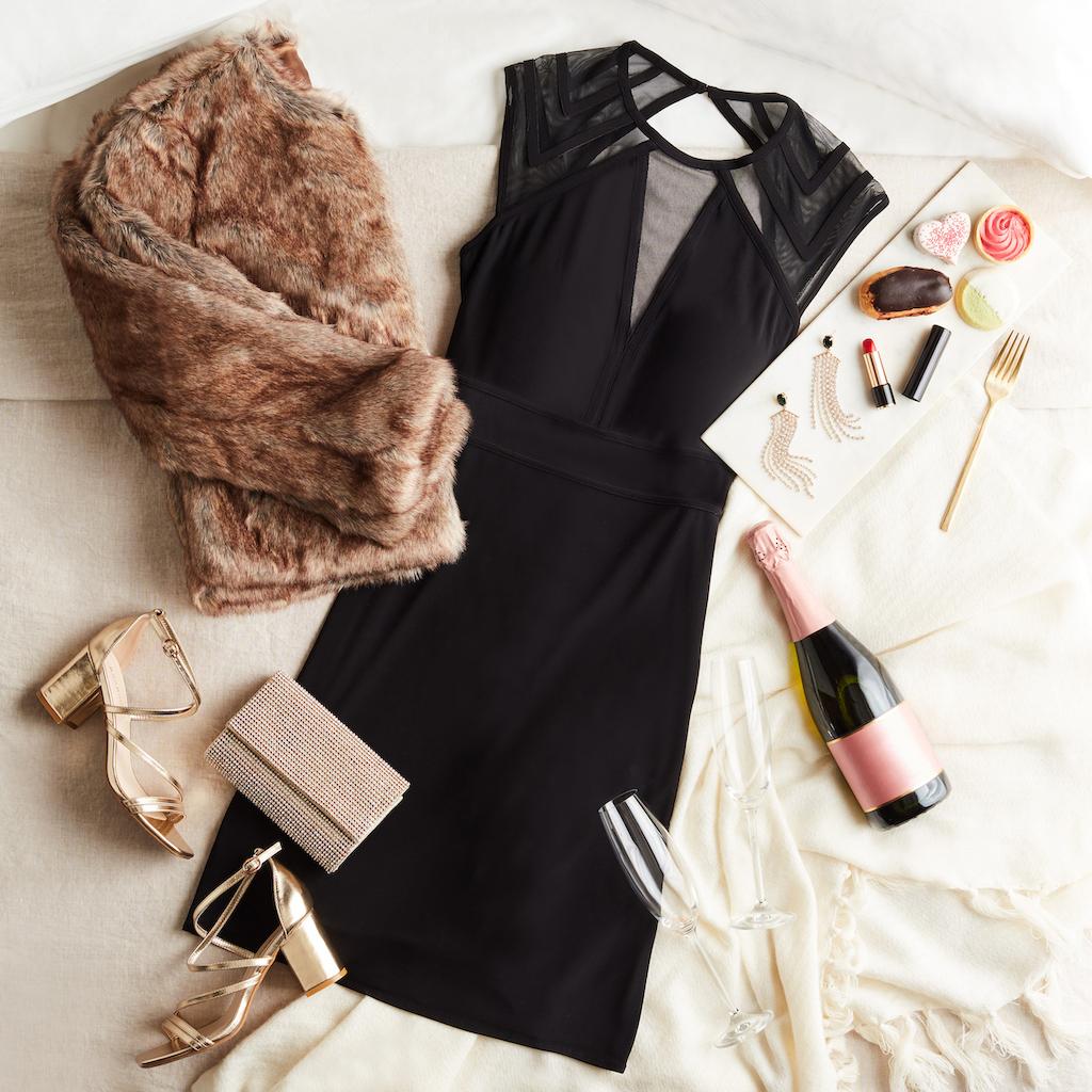 little black dress for date night