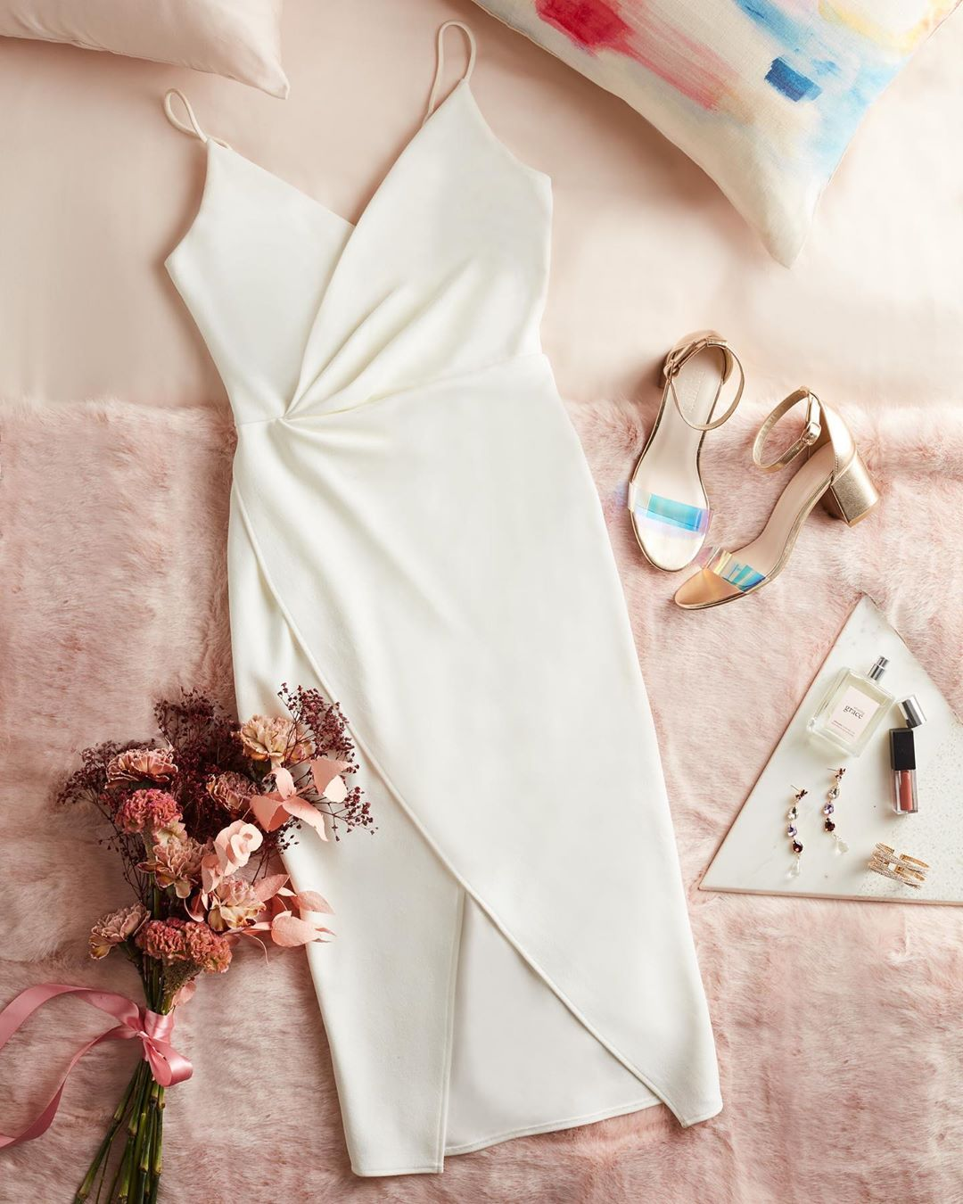 Short Dress Flatlay