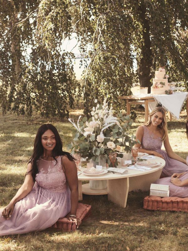 Lavender Haze Bridesmaid Dresses