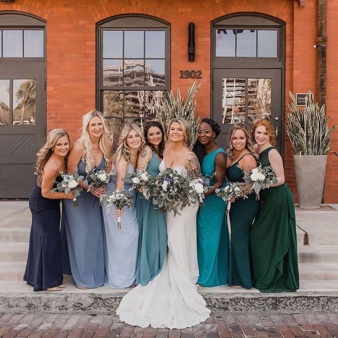 Fall Bridesmaids Color