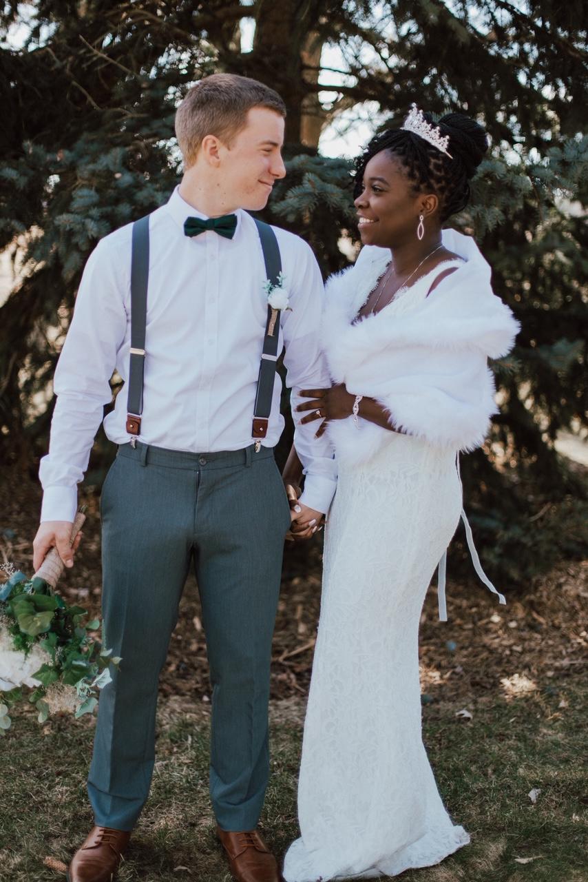 Mackwiz and Daniel Real Wedding