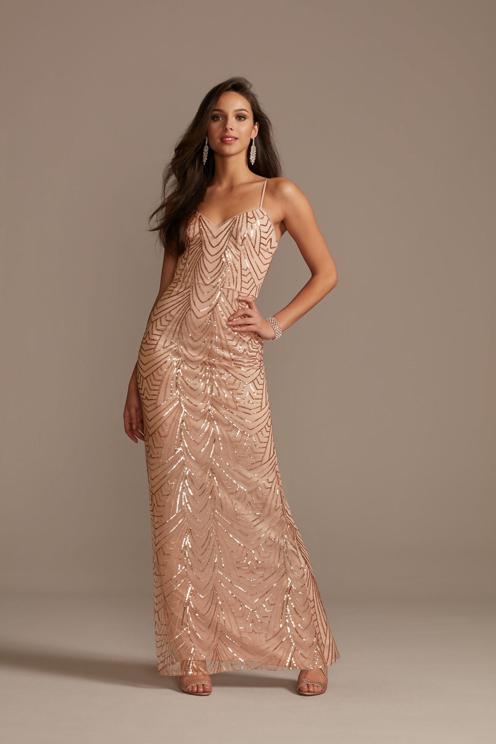 Art Deco Inspired Sequin Dress