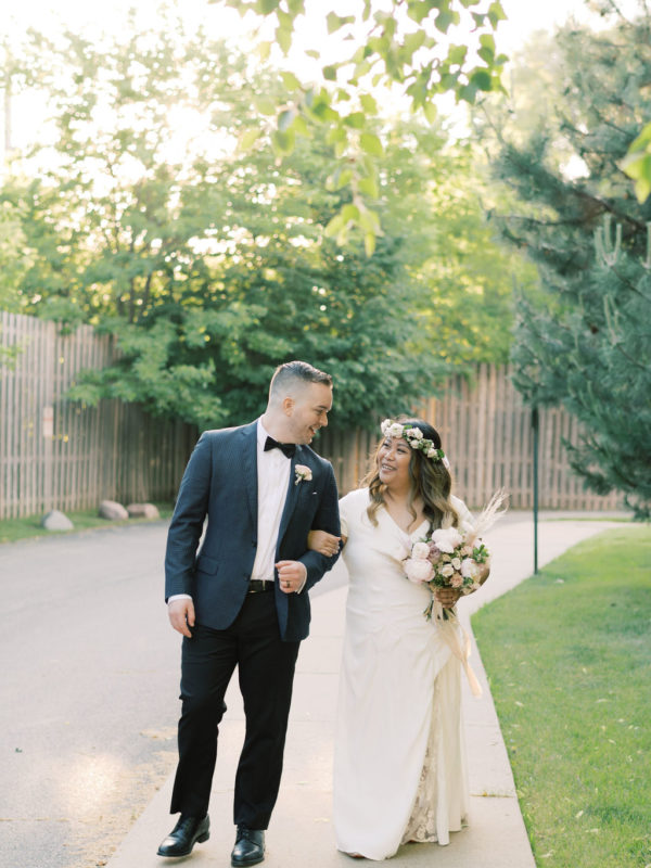 Real Wedding Melissa and David