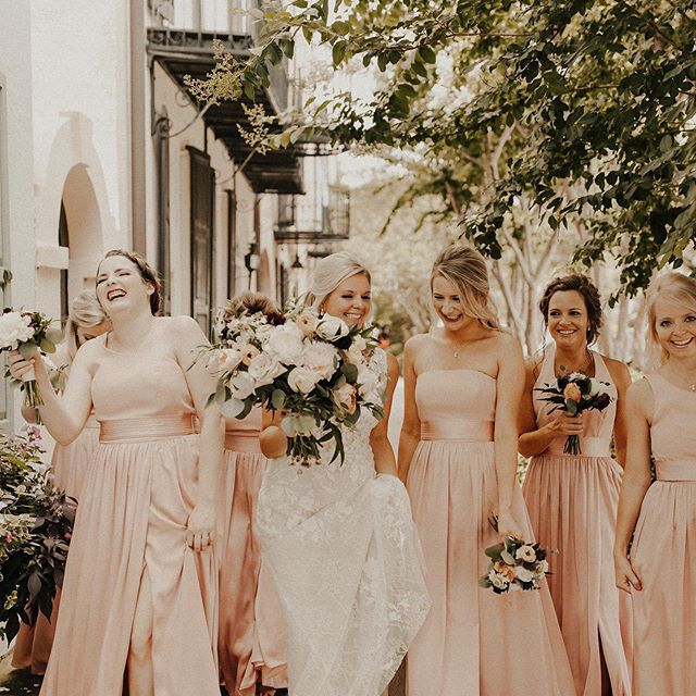 Petal Bridesmaid Dresses