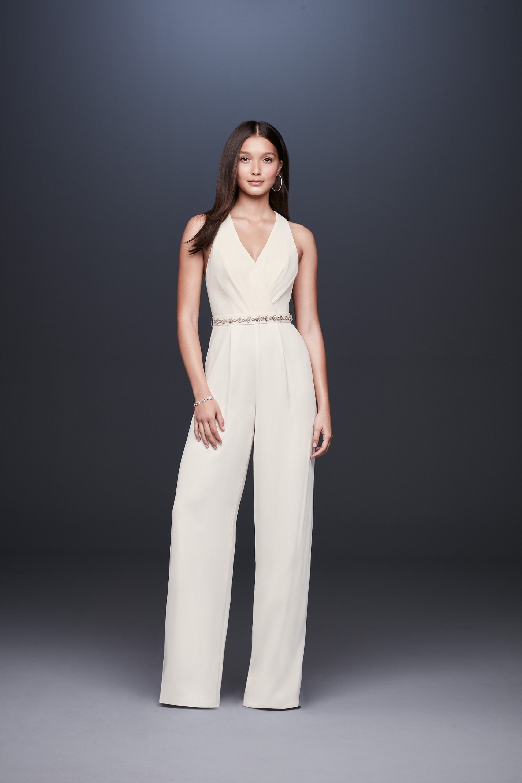 Halter Bridal Jumpsuit