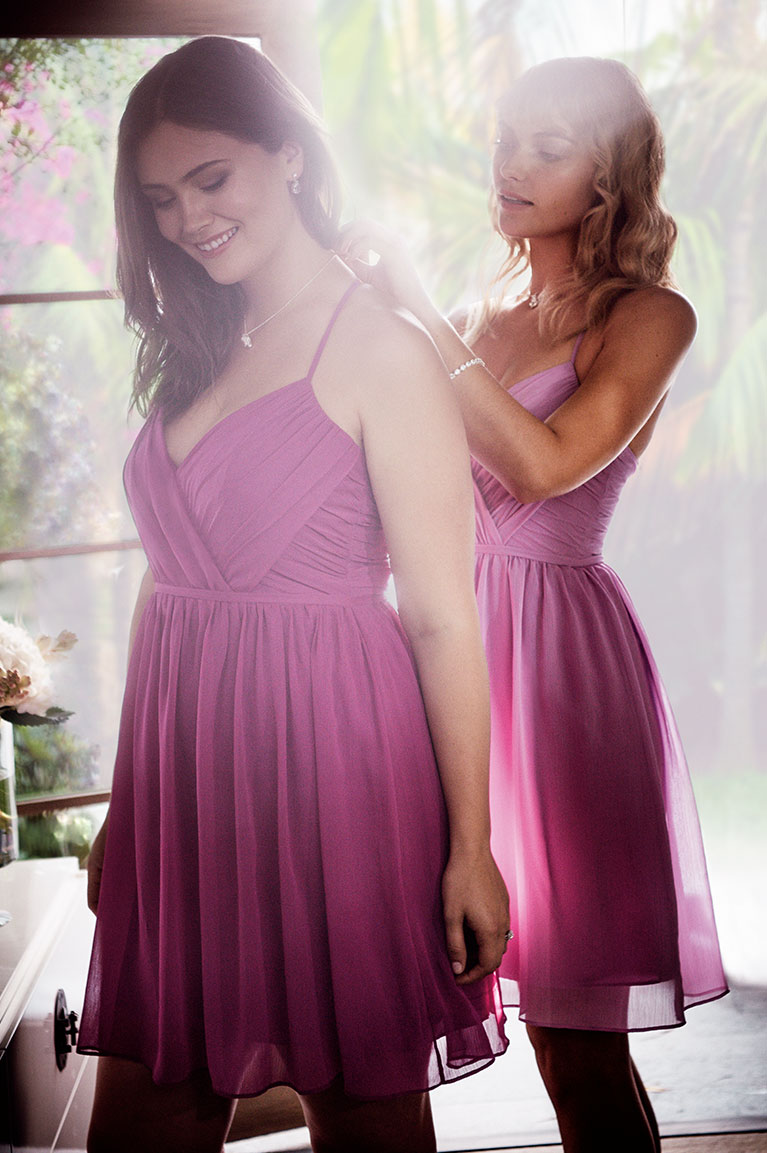 Bright Bridesmaid Dresses