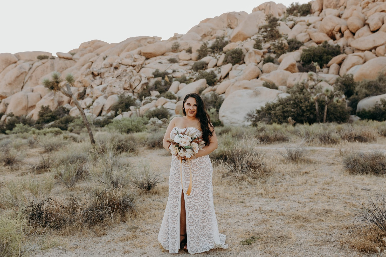 Solo Bridal Shot