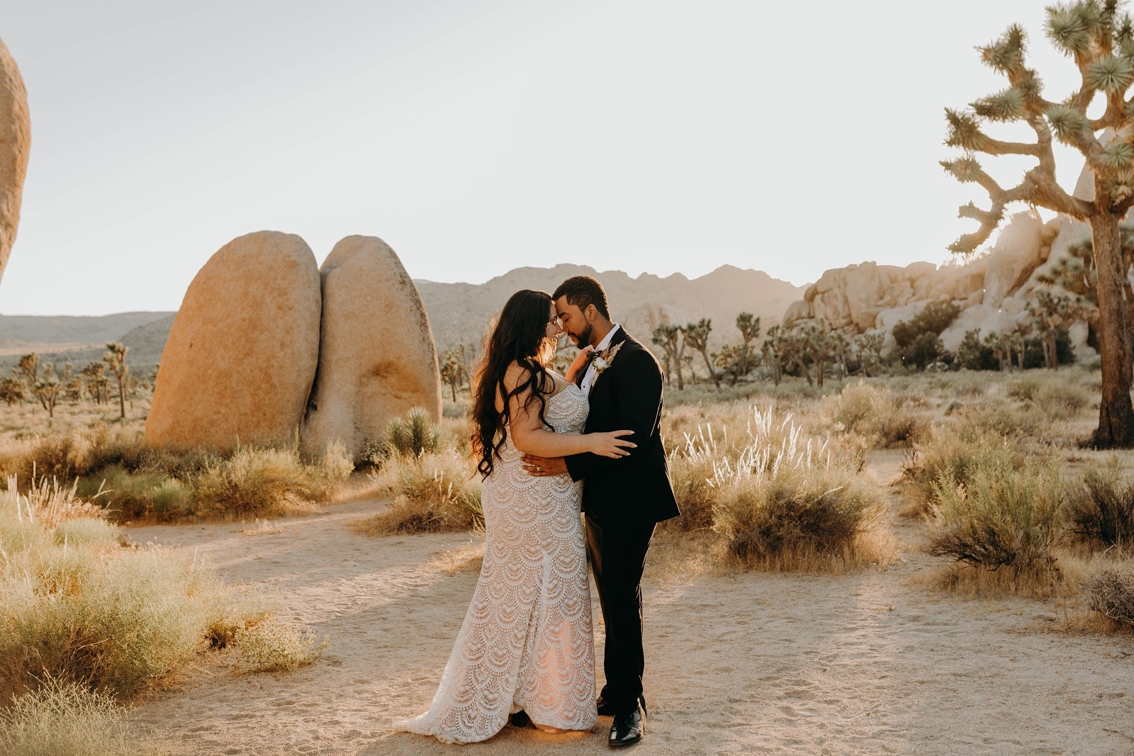 Kayla and Tyler at Joshua Tree