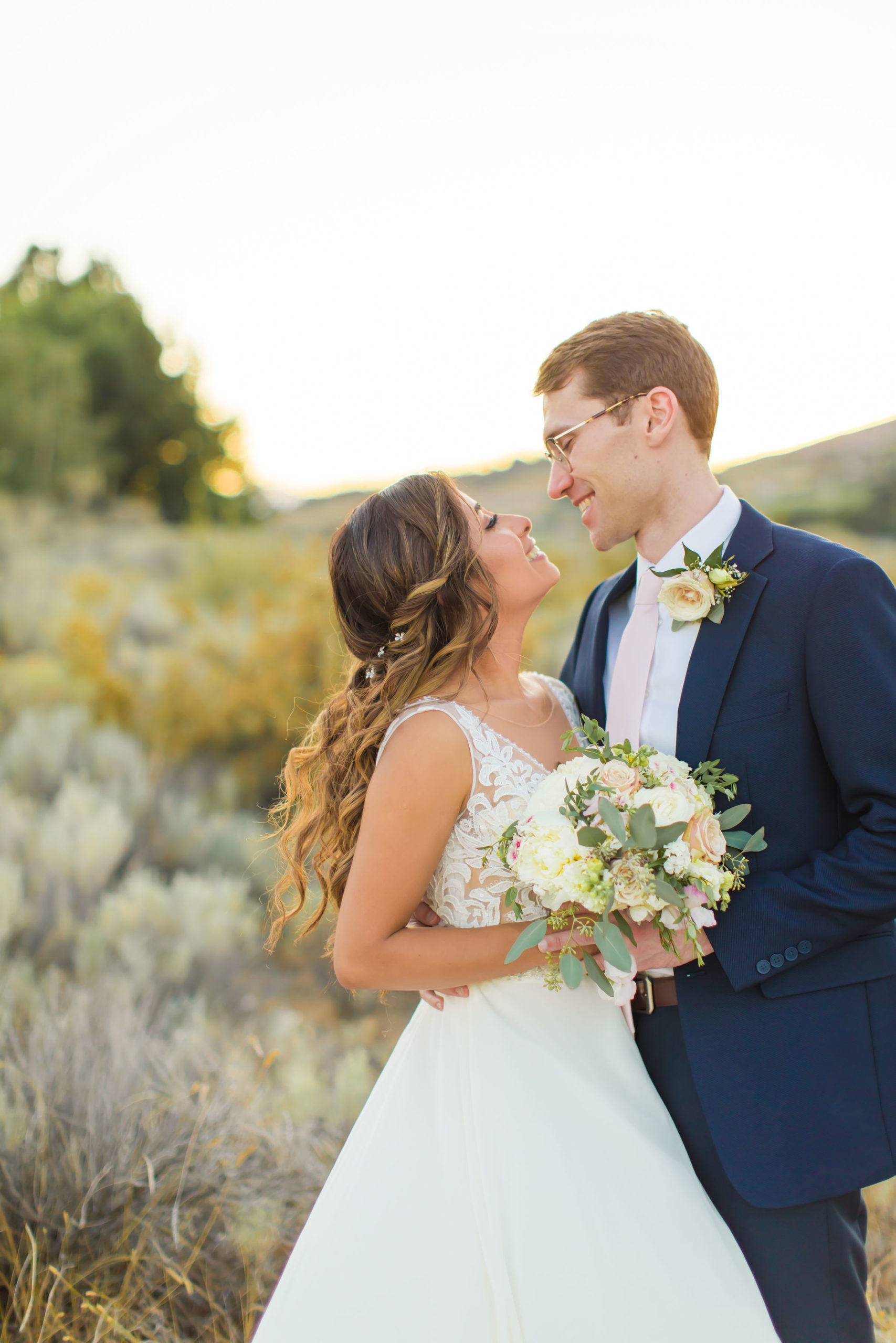 Jessica and Doug as Newlywed