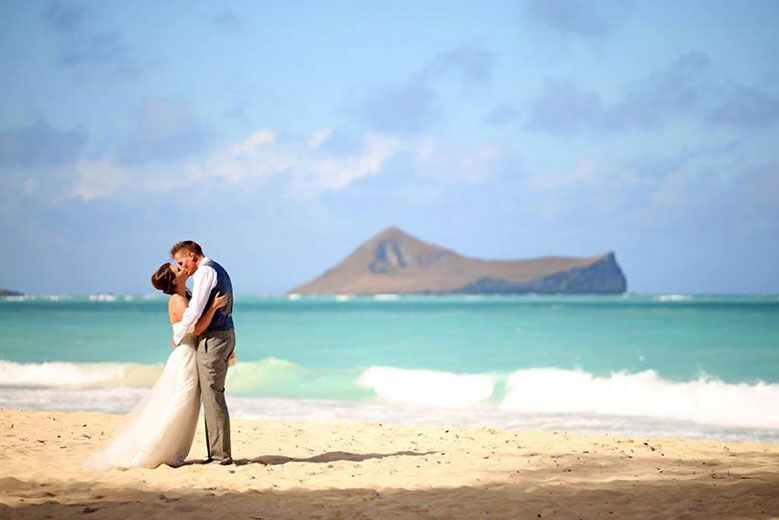 Kirsty and Shawn's real wedding in Hawaii