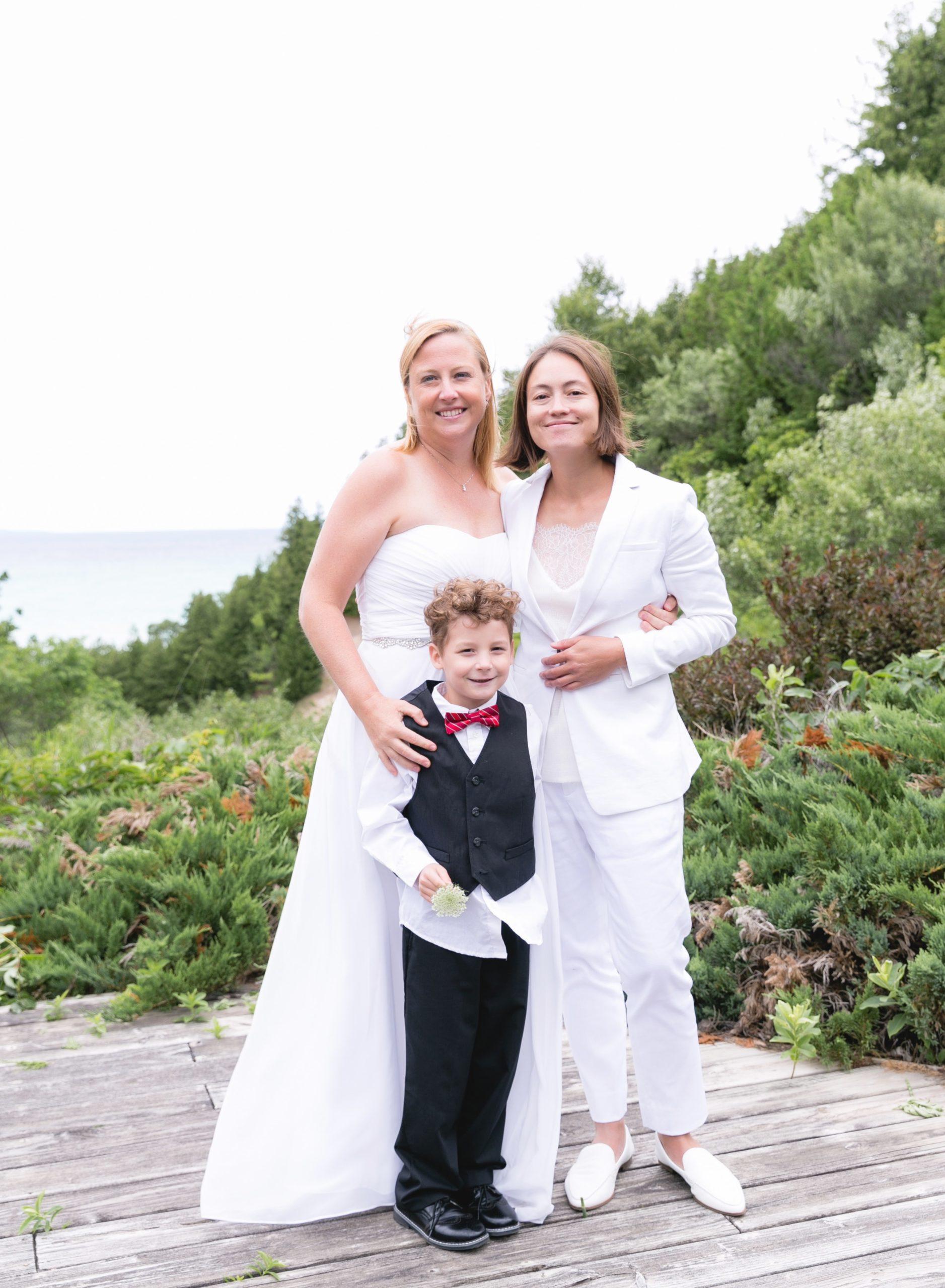 Rachel, Sarah, and Son