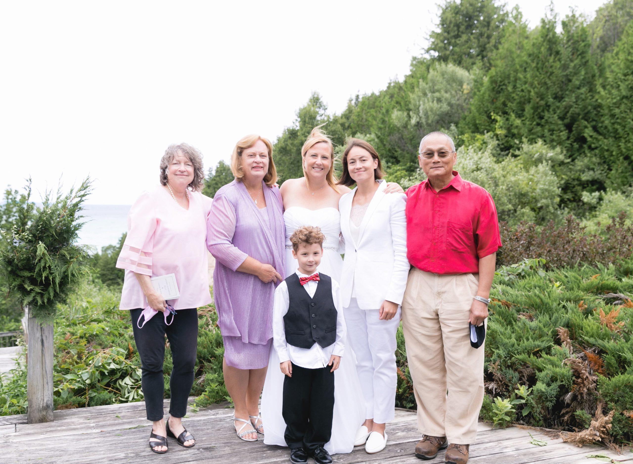 Rachel, Sarah and Family