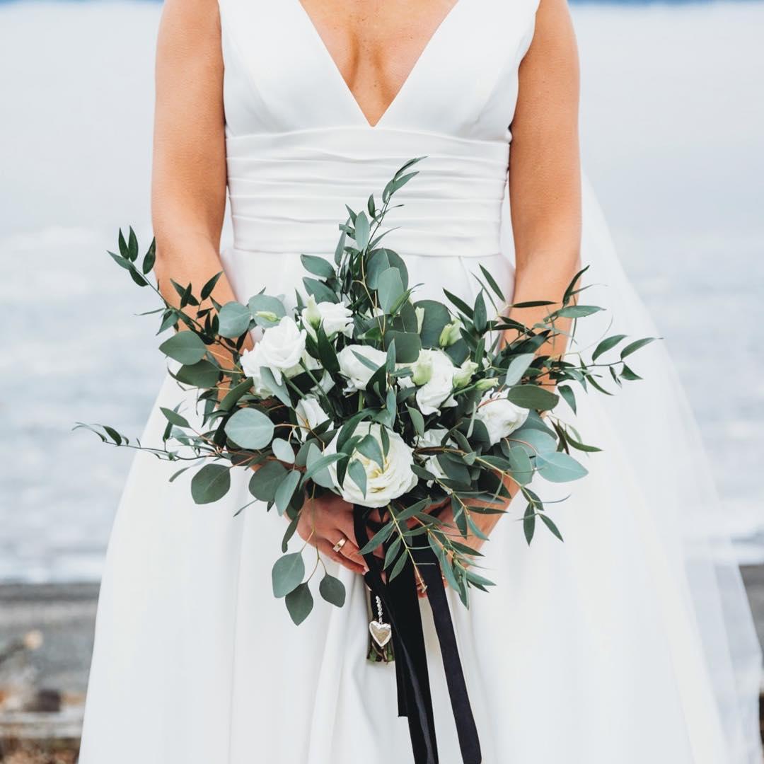 bouquet de mariée simple